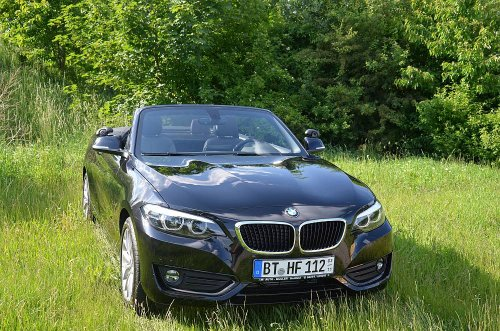 BMW 218 D Advantage Cabrio